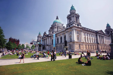 Esterno City Hall di Belfast